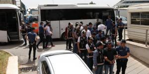 Gaziantep'te 'Şimşekler' Grubuna Operasyon: 16 Gözaltı