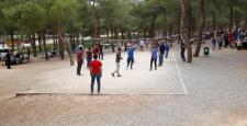 Dülük Tabiat Parkı'nda 1 Mayıs kutlaması…