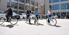 Kilis'te hükümlü gençlere bisiklet dağıtıldı