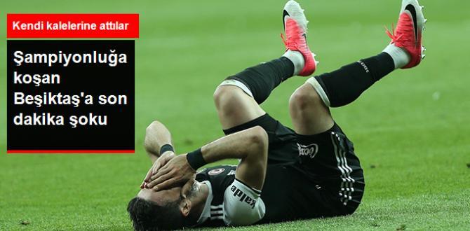 Spor Toto Süper Lig'de Beşiktaş ile Fenerbahçe 1-1 berabere kaldı.
