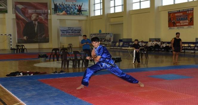 Şahinbey'de wushu turnuvası