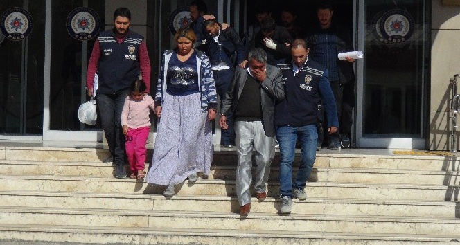 Gaziantep'teki 43 bin euroluk vurgunun zanlıları yakalandı