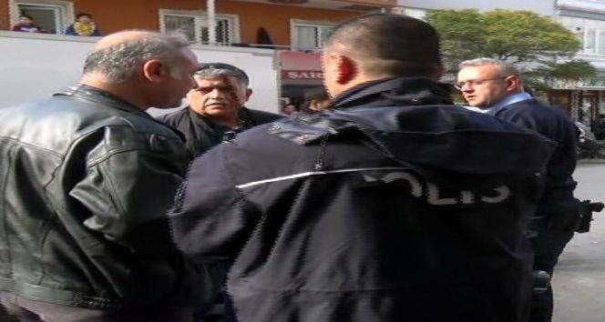 İhbar üzerine durdurulan araçtaki 5 kişi gözaltına alındı