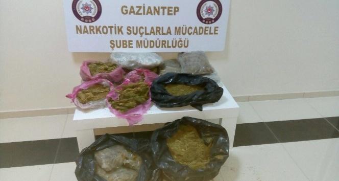 Gaziantep'te uyuşturucuyla ilgili suçlardan 51 kişi tutuklandı