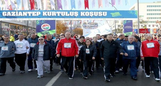 "Gaziantep'te 19 bin TL para ödüllü ""Kurtuluş"" koşusu"