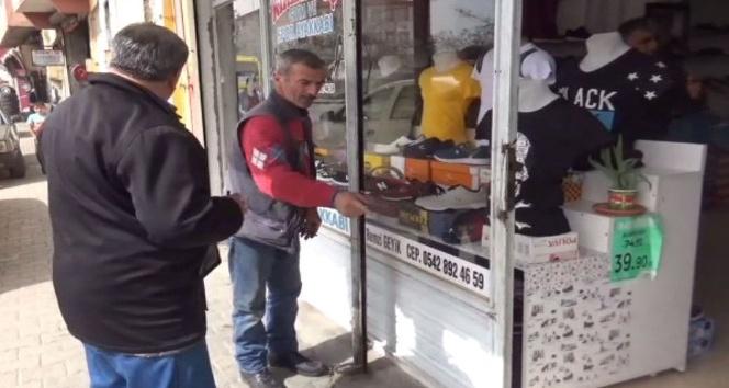 Gaziantep'te 15 bin liralık malzeme çaldılar