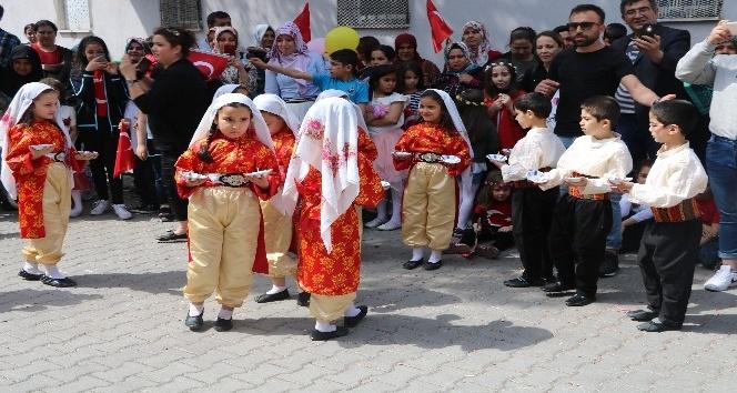 Gaziantep'te erken 23 Nisan kutlamaları