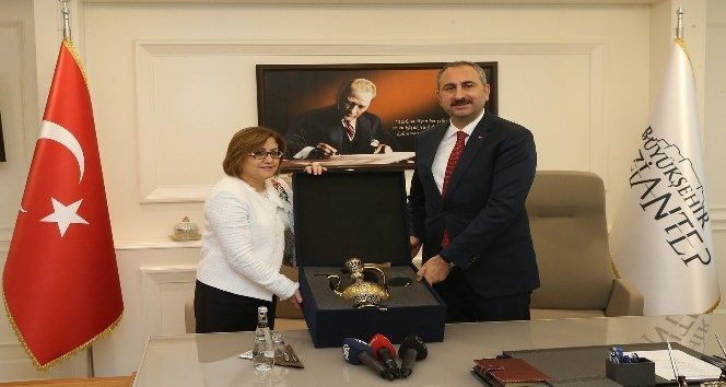Fatma Şahin Bakan Gül'ü ağırladı