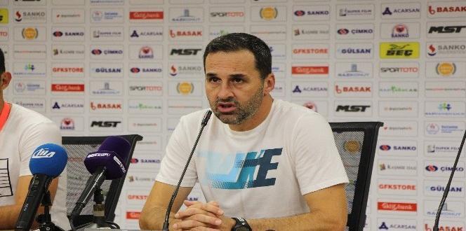 Gazişehir Gaziantep – Altınordu maçın ardından