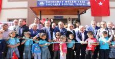 Şahinbey'de sosyal tesis törenle hizmete açıldı