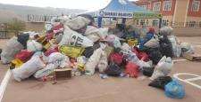 Şahinbey belediyesi'nin sıfır atık çadırı yoğun ilgi görüyor