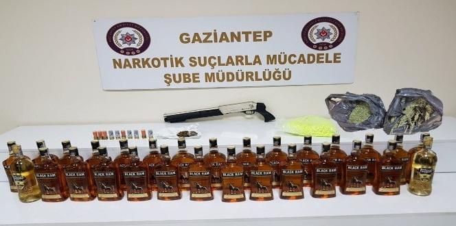 Gaziantep'teki kaçak içki operasyonu: 6 gözaltı