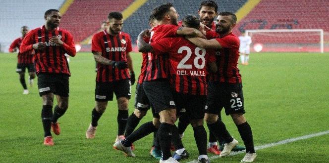 Spor Toto 1. Lig: Gazişehir Gaziantep: 1 – Boluspor: 0