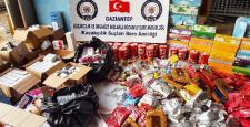 Gaziantep'te kaçakçılık operasyonu: 2 gözaltı