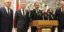 Bakan Kasapoğlu'ndan Gaziantep Valiliğine ziyaret