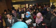 Şahinbey Belediyesi'nin Umre'ye gönderdiği öğrenciler Gaziantep'e döndü