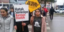 Gaziantep'te 'öncelik hayatın, öncelik yayanın' etkinliği düzenlendi