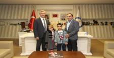 Türkiye'yi güldüren adamdan Tahmazoğlu'na ziyaret