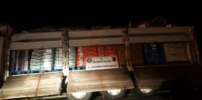 Yol kontrolünde 19 ton sahte deterjan ele geçirildi