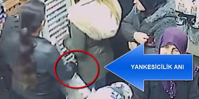 Gaziantep'te Yankesicilik Olayları Kameralarda