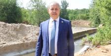 OĞUZELİ'NDE 'ÇİFTÇİNİN UMUDU SULAMA KANALI