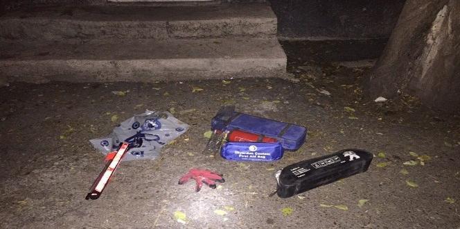 Suçüstü yakalanan ilk yardım çantası hırsızı tutuklandı