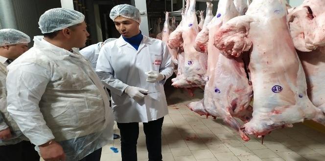 Gaziantep'te kasaplar ve et ürünleri üretim tesisleri denetlendi.
