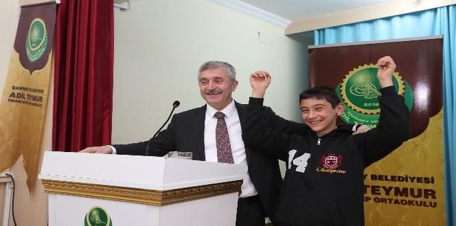 Mehmet Tahmazoğlu, öğrencilerle kariyer gününde buluştu