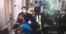 Gaziantep'te Sağlık Çalışanlarına Çirkin Saldırı