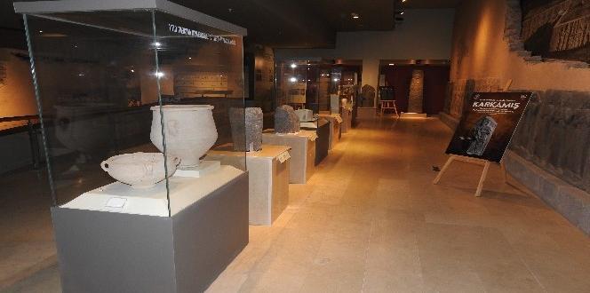 Karkamış Antik Kenti'nden Çalınan Eserler Anavatana Getirildi