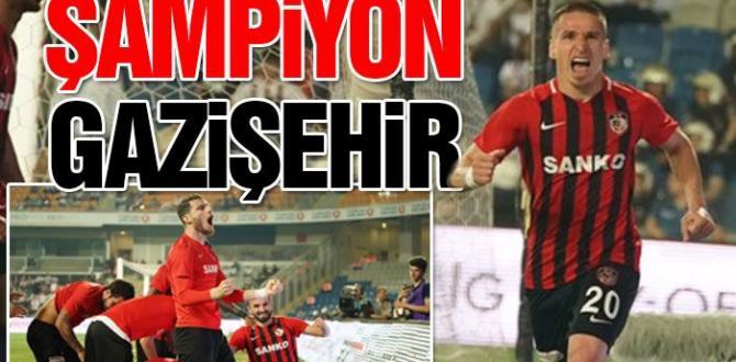 Son Dakika: Gazişehir Gaziantep Süper Lig'e Yükselen Son Takım Oldu