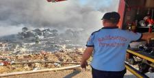 Gaziantep'teki Depo Yangını