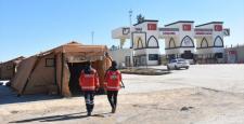 Suriye Sınırına Sahra Hastanesi