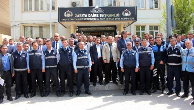 Gaziantep'te zabıtaların tartaklanmasına tepki