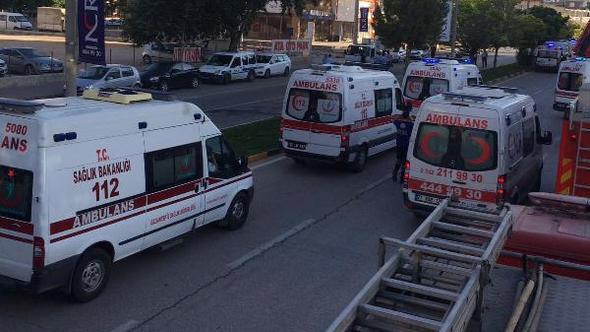Gaziantep'te hastanede yangın: 2 ölü