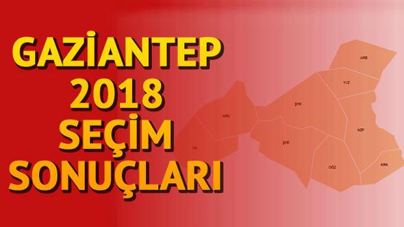 Gaziantep seçim sonuçları açıklandı