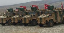 Türk ve ABD askerlerinin Münbiç'te ortak devriyesi başladı