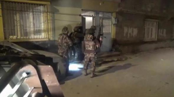 Gaziantep'te 'terör' operasyonu