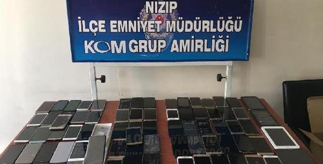 Gaziantep'te kaçak cep telefonu operasyonu