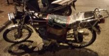 Motosikletli Kapkaççı Kaza Yapınca Yakalandı