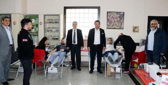 Nizip'te Kan Bağış Kampanyası