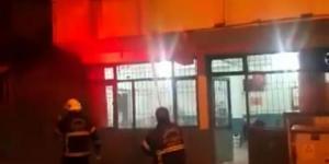Kapatılan Dernek Binasında Çıkan Yangın Korkuttu