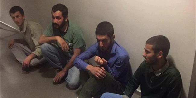 Sincar'da Yakalanan 4 Terörist, Irak'tan Türkiye'ye Getirildi
