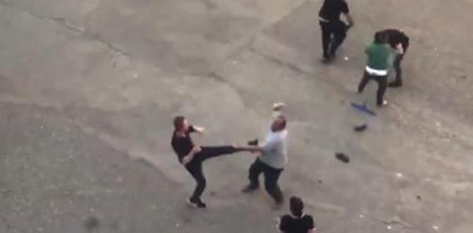 Gaziantep'te Meydan Kavgası… Ortalık Bir Anda Karıştı