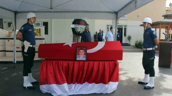 Tokat'taki Kazada Ölen Polis Memuru İçin Gaziantep'te Tören