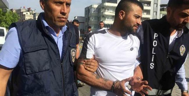 Polise Çarpan Sürücü Yakalandı