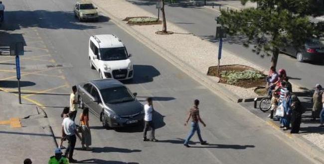 Gaziantep'te Havadan Trafik Denetimi