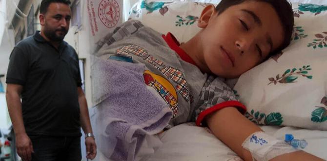 Gaziantep'te Akılalmaz Olay! Küçük Çocuk Ölümden Döndü