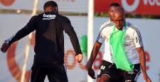 Beşiktaş'ta Atiba ve Diaby Sevinci