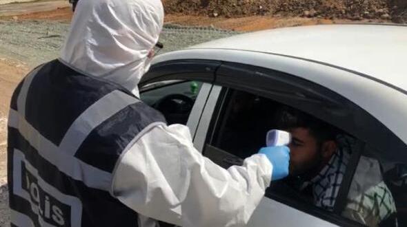 Koronavirüs Tedbirleri Kapsamında Araç Sürücüleri ile Yolcuların Ateşini Ölçüyor